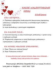 menu wal